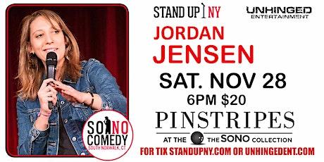 Unhinged Comedy presents: Jordan Jensen tickets
