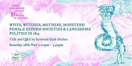 Wives, witches, mothers, monsters? Talk and Q&A with historian Ruth Mather tickets