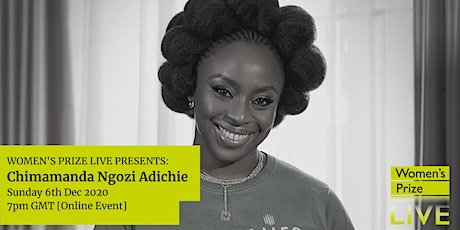 Women's Prize Live with Chimamanda Ngozi Adichie: 'Winner of Winners' tickets