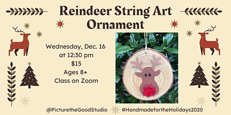Reindeer String Art tickets
