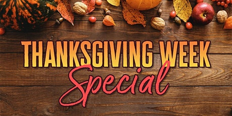 """Thanksgiving Week Special - Yoga and Tai Chi """"Starter Pack"""" tickets"""