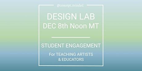 Teaching Artist Design Lab tickets