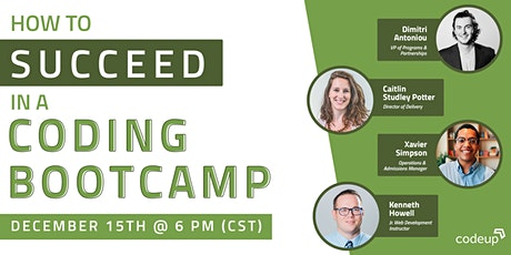 Codeup | How to Succeed in a Coding Bootcamp tickets