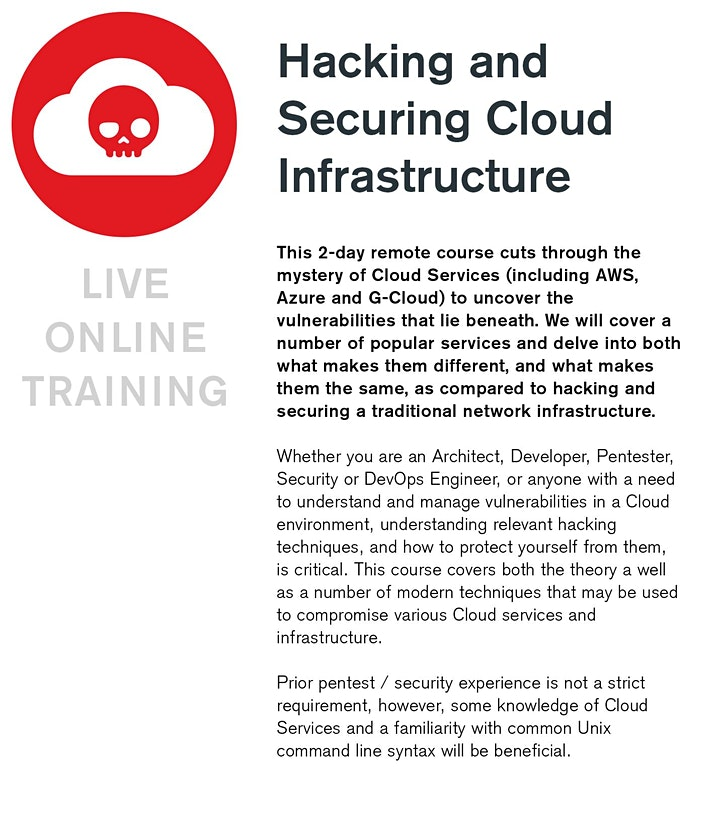 Hacking and Securing Cloud Infrastructure image
