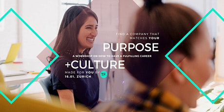 Culture Purpose Match - find your perfect company (workshop) tickets