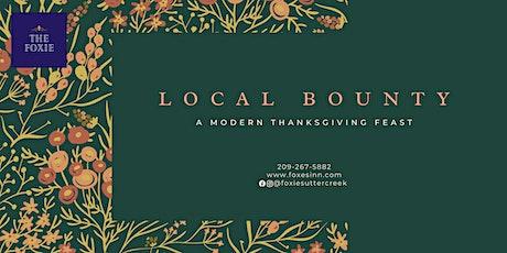 Local Bounty: A Modern Thanksgiving Feast tickets