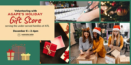 Volunteer with Agape Holiday Gift Store tickets