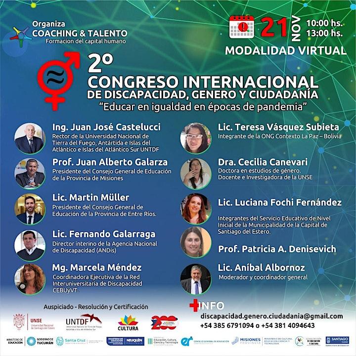 Imagen de II CONGRESO INTERNACIONAL DE DISCAPACIDAD, GENERO Y CIUDADANÍA