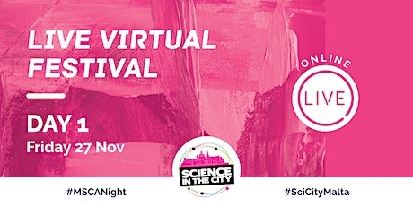 Live Virtual Festival Day 1 (Friday 27th November)-SITC 2020 tickets