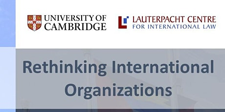 Rethinking International Organizations tickets
