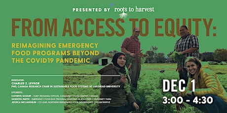 From Access to Equity: Reimagining Emergency Food Programs Beyond COVID tickets