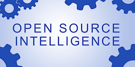 Open Source Intelligence Uncovered - Module 3 tickets