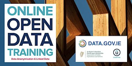ONLINE Ireland Open Data - Data Anonymisation & Linked Data (Dec 2020) tickets