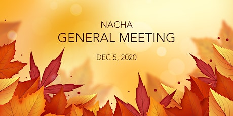 NACHA Budget General Meeting tickets