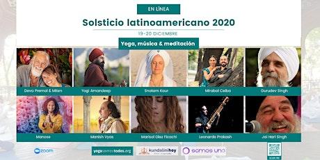 Solsticio latinoamericano diciembre 2020 entradas
