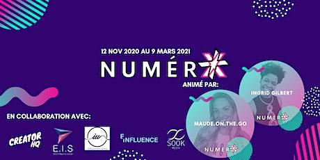 NumérX 2020 - Édition Numérique billets