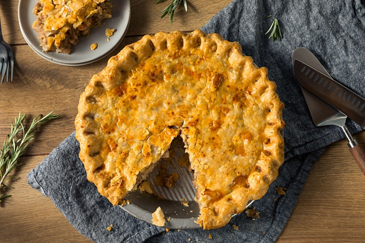 Tourtiére: A Savory Holiday Pie with AMY THIELEN image