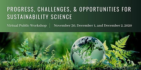 Progress, Challenges, and Opportunities for Sustainability Science tickets