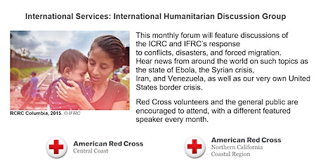 Discussion with Donna Duvin, International Rescue Committee tickets