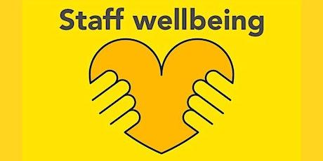 Staff wellbeing MHST drop-in Clinic tickets