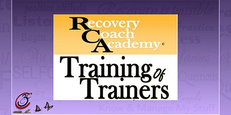 CCAR Recovery Coach Academy TOT tickets