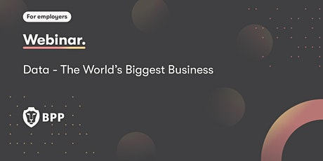 Data – The World's Biggest Business tickets