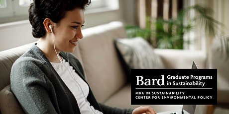 Bard Graduate Programs in Sustainability Online Information Sessions tickets