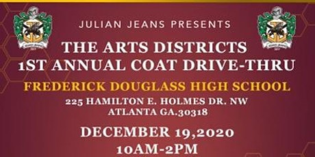 """Julian Jeans""  Presents The Art Districts 1st Annual  Coat Drive-Thru tickets"