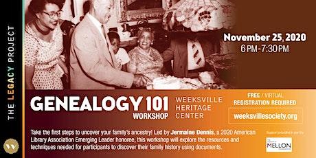 Genealogy 101 w/ Jermaine Dennis tickets