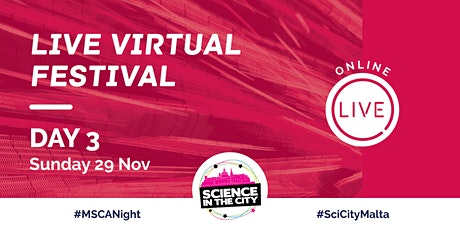 Live Virtual Festival Day 3 (Sunday 29th November) - SITC 2020 tickets