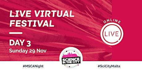 Live Virtual Festival Day 3 (Sunday 29th November) - SITC 2020 tickets