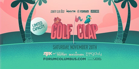 GOLF CLAP: A Social Distancing Event Experience tickets