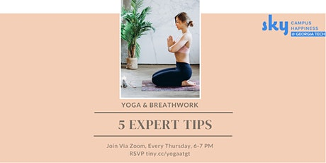 Yoga and Breathwork tickets