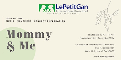 Mommy & Me Classes tickets