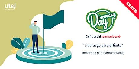"""Seminario Web """"Liderazgo para el Éxito"""" boletos"""