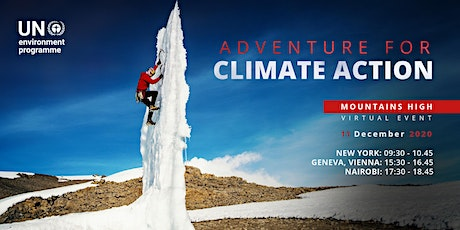 Mountains High - Adventure for Climate Action! tickets
