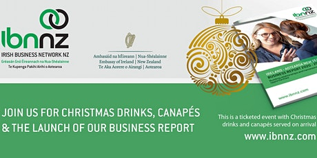 IBNNZ Auckland: Report Launch and Christmas drinks tickets