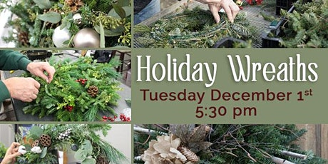 Holiday Wreath Decorating tickets