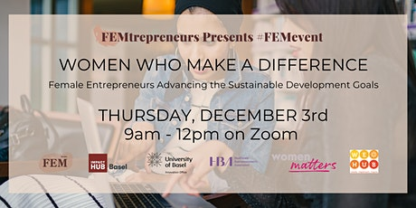 FEMevent: Women Who Make a Difference tickets