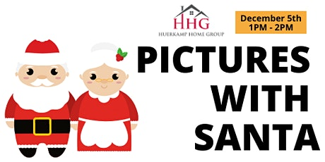 Pictures with Santa & Mrs. Claus! tickets
