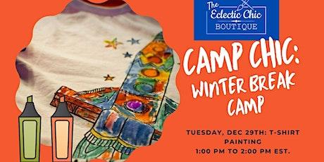Virtual Winter Break Camp: T-Shirt Painting tickets