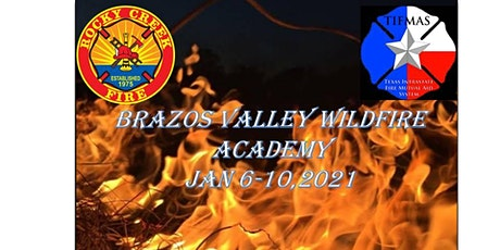 Brazos Valley Wildfire Academy	 January 6 - 10, 2021 tickets