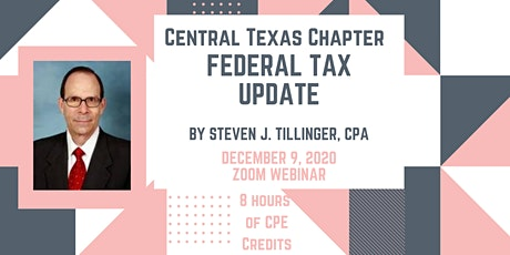 Federal Tax Update by Steven J. Tillinger, CPA tickets