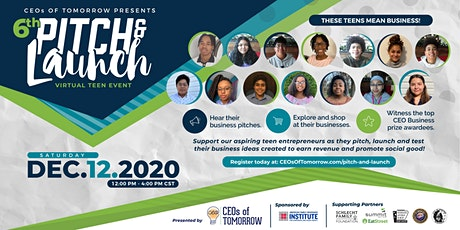 6th Teen Pitch & Launch Event tickets
