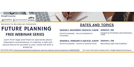 Future Planning Webinar Series tickets