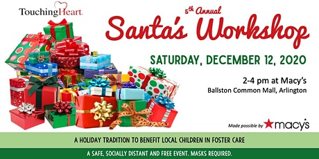 Touching Heart's 5th Annual Santa's Workshop, made possible by Macy's tickets