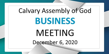 Members Business Meeting tickets