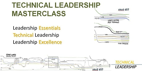 Technical Leadership Masterclass, March 2 and March 9, 2021, 12-3 pm  ET tickets