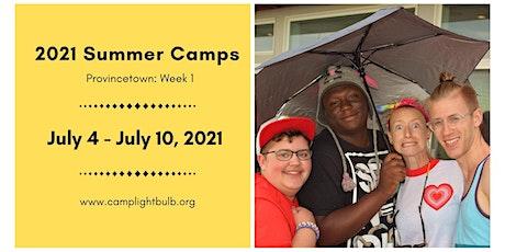 Camp Lightbulb 2021 Summer Camp Week 1 - Provincetown tickets