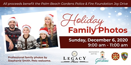 Professional Holiday Family Photos - Sunday, December 6 tickets